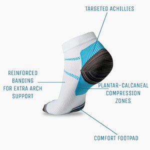 5 Pairs of Compression Plantar Socks + 2 Free Pairs
