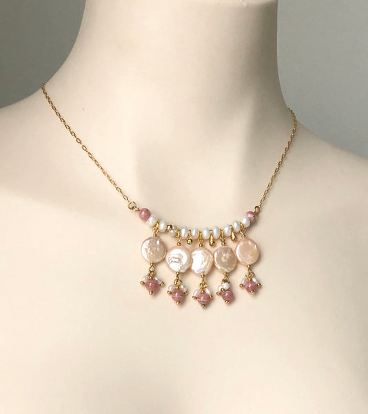 PEARL GOLD NECKLACE