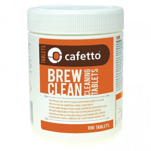 Cafetto - Brew Clean 100 Tabletas