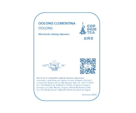 Copihue - Oolong Clementina 50 gr
