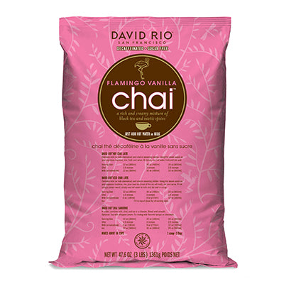 Flamingo Chai 1,350 - David Rio