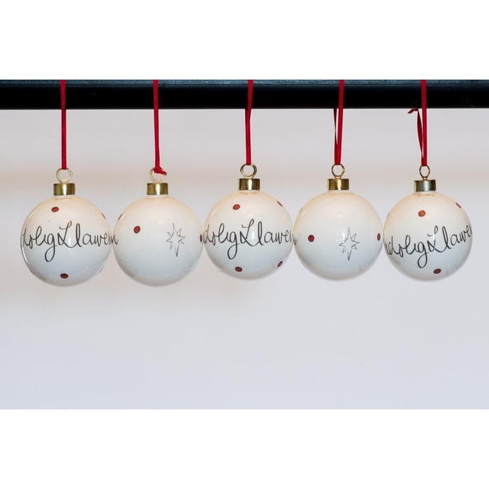 Bauble Nollaig Llawen