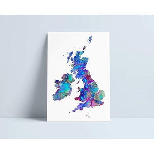 Map of UK & Ireland