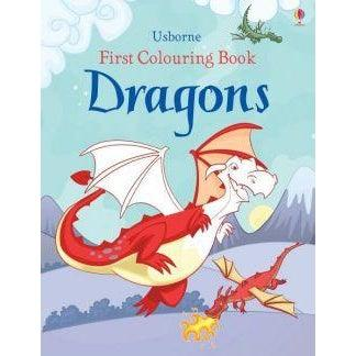 First Colouring Book Dragons