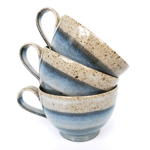 Blue Range - Cup & Saucer - Siop y Pethe