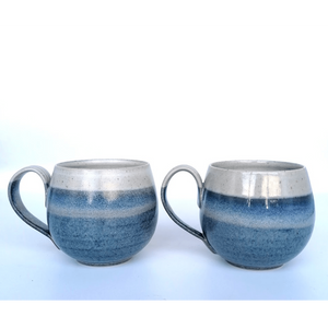 Blue Range - Rounded Mugs - Siop y Pethe