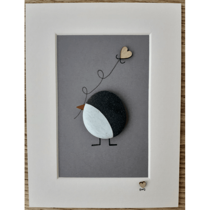 Penguin & Kite Pebble Print