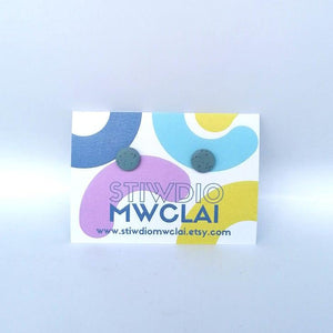 Stiwdio Mwclai - Mini Stud Earrings