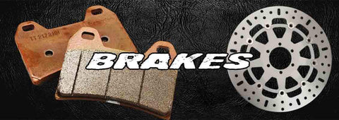 Victory & Indian Motorcycle Brakes, Pads, Rotors, Lines & Hardware