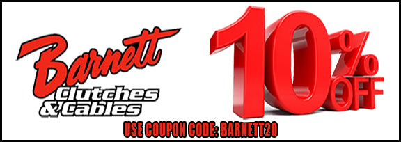 Barnett cables & clutches discount coupon code