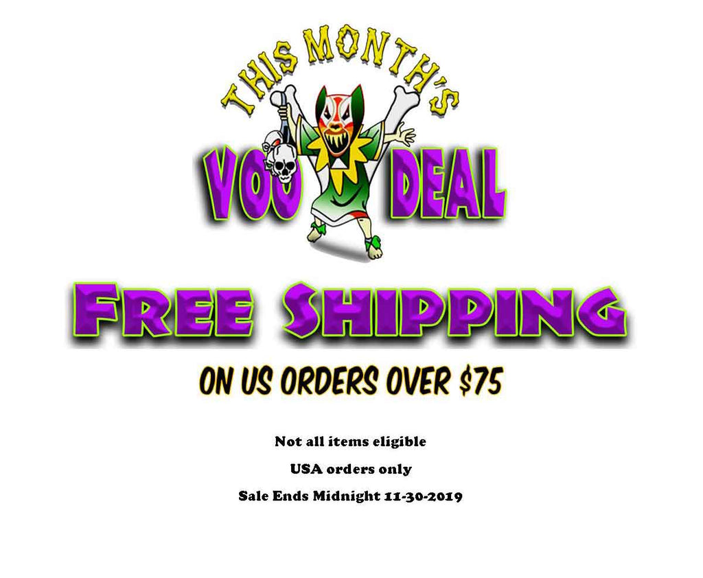 Witchdoctors voodeal, sale, coupon, deal