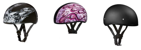 Novelty motorcycle helmets on witchdoctors.com