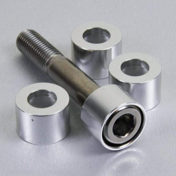 10mm Bolt Cup Washer Silver