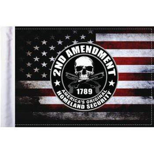 "Parts Unlimited Specialty Flag 2nd Amendment Homeland Security Flag - 6"" x 9"" by Pro Pad FLG-HS2AMND"