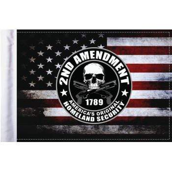 "2nd Amendment Homeland Security Flag - 6"" x 9"" by Pro Pad"