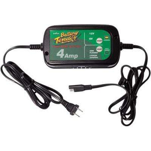Parts Unlimited Battery Accessory 4 Amp Selectable Battery Charger by Battery Tender 022-0209-BT-WH