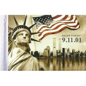 "Parts Unlimited Specialty Flag 911 Never Forget Flag - 10"" x 15"" by Pro Pad FLG-911NF15"