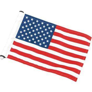 "Parts Unlimited Flag Mount Antenna Mount - U.S.A. Flag - 6"" x 9"" by Pro Pad AFM-USA"