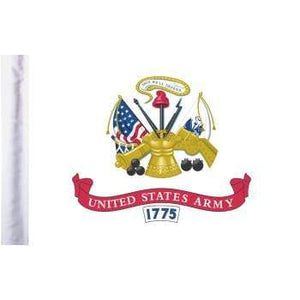 "Parts Unlimited Military Flag Army Flag - 6"" x 9"" by Pro Pad FLG-ARM"