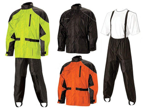 Parts Unlimited Rain Gear Aston Motorcycle Rain Suit by Nelson-Rigg