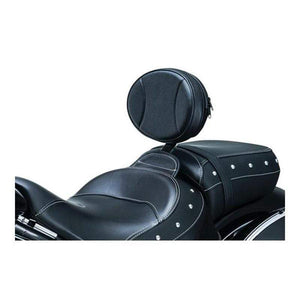Kuryakyn Seat Accessory Backrest Plug-N-Go Black by Kuryakyn 1628