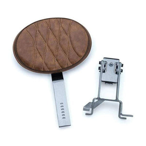 Kuryakyn Seat Accessory Backrest Plug-N-Go Tan by Kuryakyn 1629