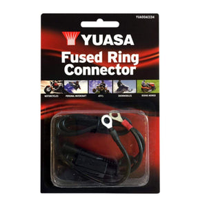 Parts Unlimited Battery Battery Charger Fused Ring Connector by Yuasa YUA00ACC04