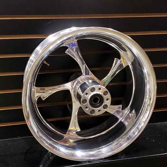 Billet 18 x 8.5 Rear Anvil Wheel by Polaris