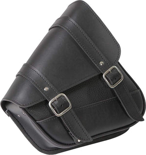 "Western Powersports Swingarm Bag Black Syn Leather Swingarm Bag 10.5"" X 11.5"" X 4.5"" by Willie & Max 59778-00"