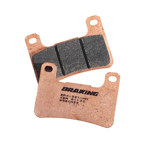 Parts Unlimited Brake Pads Brake Pads Front Sintered Metal by Braking 784CM55