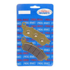 Parts Unlimited Brake Pads Brake Pads Gold + Front Vision by Lyndall Brakes 7177-g