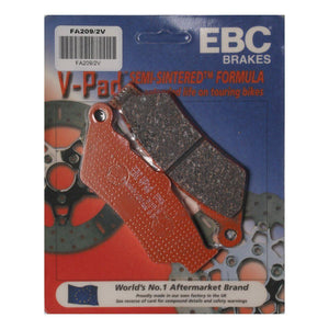 Parts Unlimited Brake Pads Brake Pads Semi-Sintered Rear Up to 07 by EBC FA209-2V