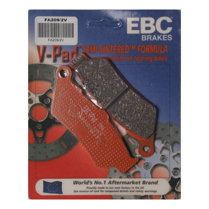 Brake Pads Semi-Sintered Rear Up to 07 by EBC