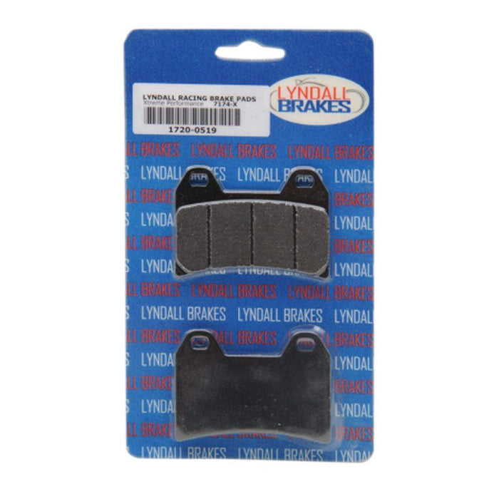 Brake Pads X-Treme Front Up to 07 by Lyndall Brakes
