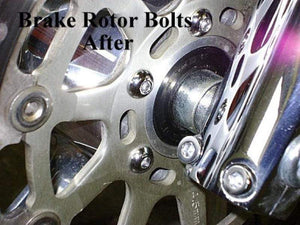 Witchdoctors Dress Up Hardware Brake Rotor Chrome Bolt Set / Non ABS by Witchdoctors A-13773