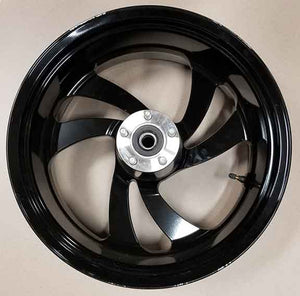 AARON / Witchdoctors Wheel Cast 18 x 8.5 Rear Black Wheel by Polaris RWCAST-BLK