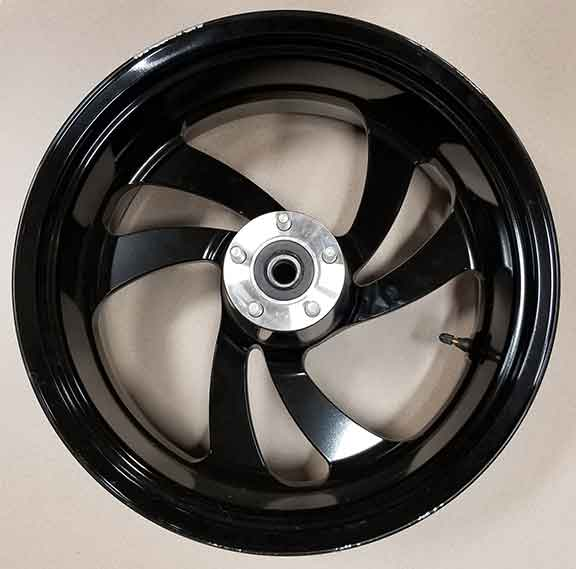 Cast 18 x 8.5 Rear Black Wheel by Polaris