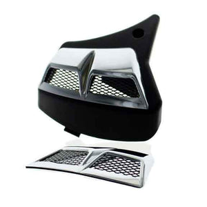 Bike Town Chrome Vented Airbox Lid Cover 2876300