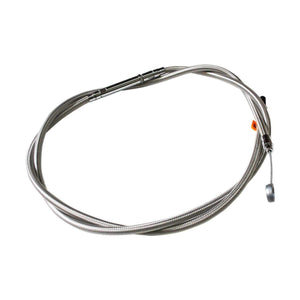 Parts Unlimited Clutch Cable Clutch Cable Stainless for Scout by LA Choppers LA-8400C08