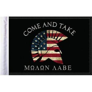 "Parts Unlimited Specialty Flag Come and Take Flag - 6"" x 9"" by Pro Pad FLG-MNLB"