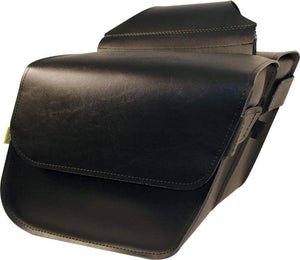 Western Powersports Saddlebag Compact Slant Raptor by Willie & Max 58801-00