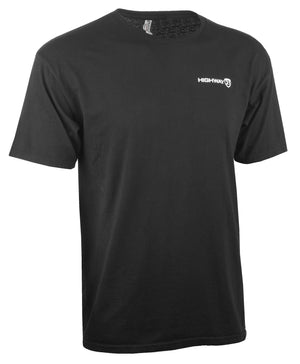 Western Powersports Drop Ship Shirt SM / Black Corporate Tee by Highway 21 489-1920S