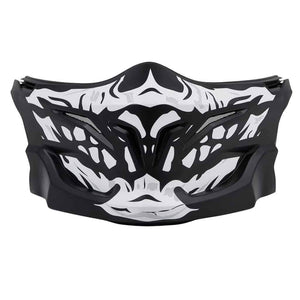 Western Powersports Helmet Accessory Covert Skull Face Mask by Scorpion 75-01045