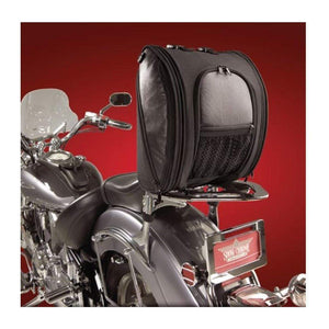 Big Bike Parts Luggage Rack Deluxe Solo Rack Bag by Hopnel H50-107BK