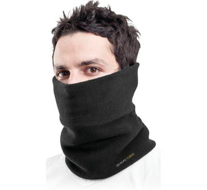 Tucker Rocky Gaitor OS / Black Double Layer Neckgaiter by Schampa