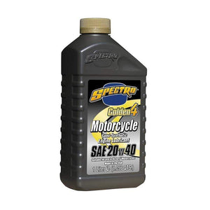 Western Powersports Oil Engine Oil 20W-40 Golden Semi-Synthetic Blend 1-Liter by Spectro L.SG424