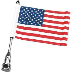 "Parts Unlimited Flag Mount Fixed Flag Mount - With 6"" X 9"" Flag by Pro Pad RFM-FXD2"