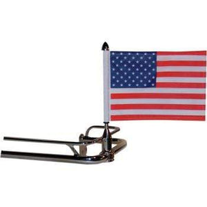 "Parts Unlimited Flag Mount Flag Mount - 3/4"" Bar - With 10"" X 15"" Flag by Pro Pad RFM-FXD115"
