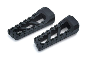 Kuryakyn Foot Peg Footpegs Riot Satin Black by Kuryakyn 3599