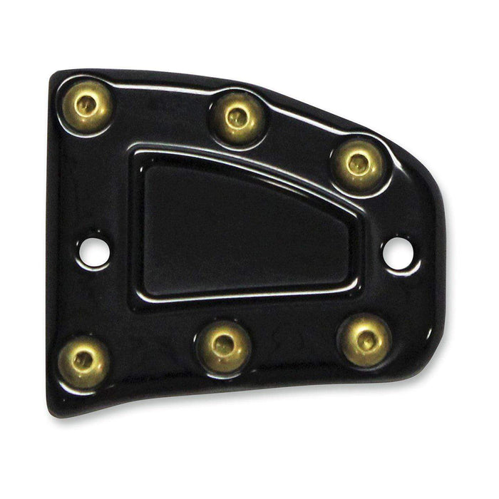 Front Master Cylinder Cover Black Bomber Series by Carl Brouhard